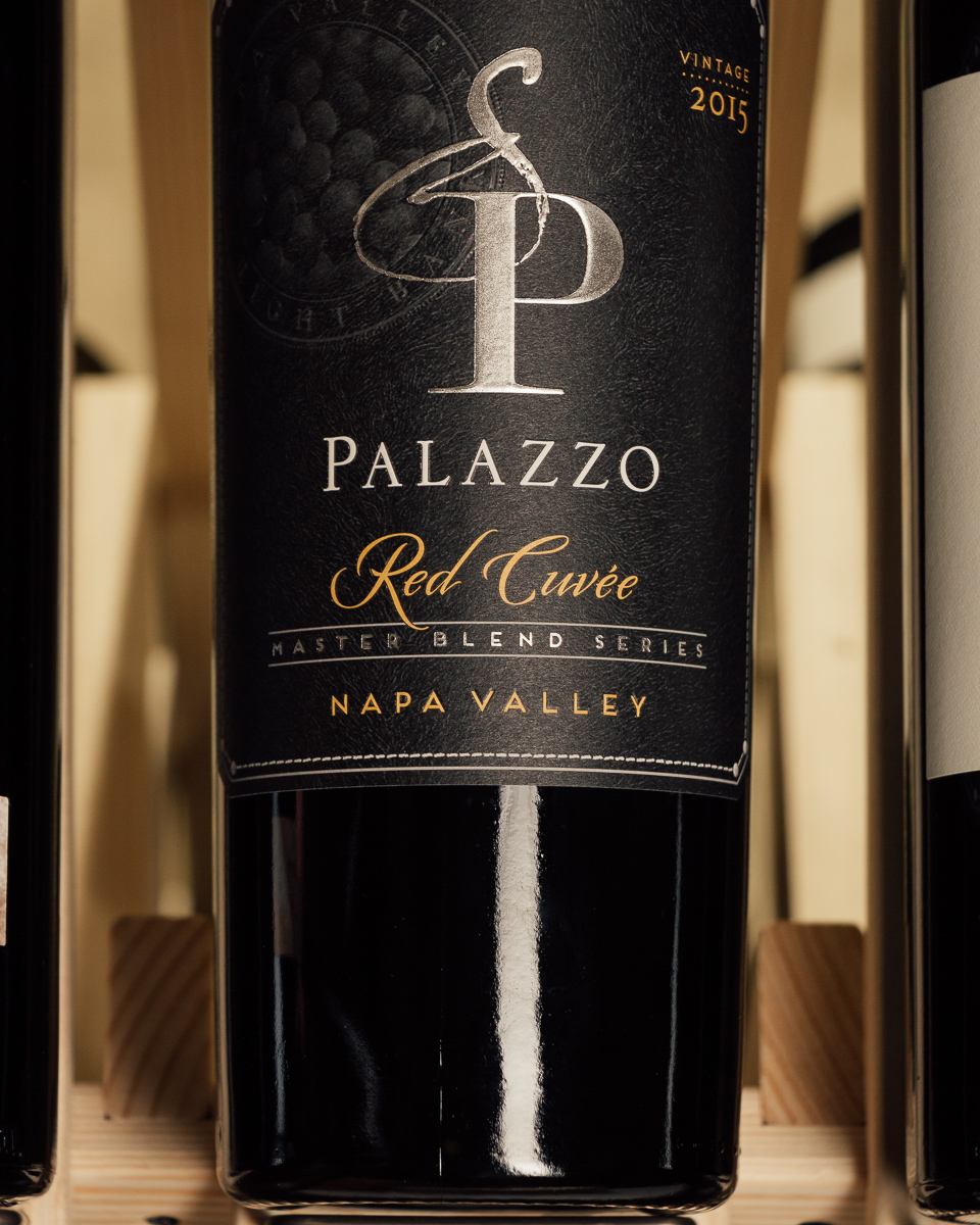 Palazzo Red Cuvee Master Blend Series 2015  - First Bottle