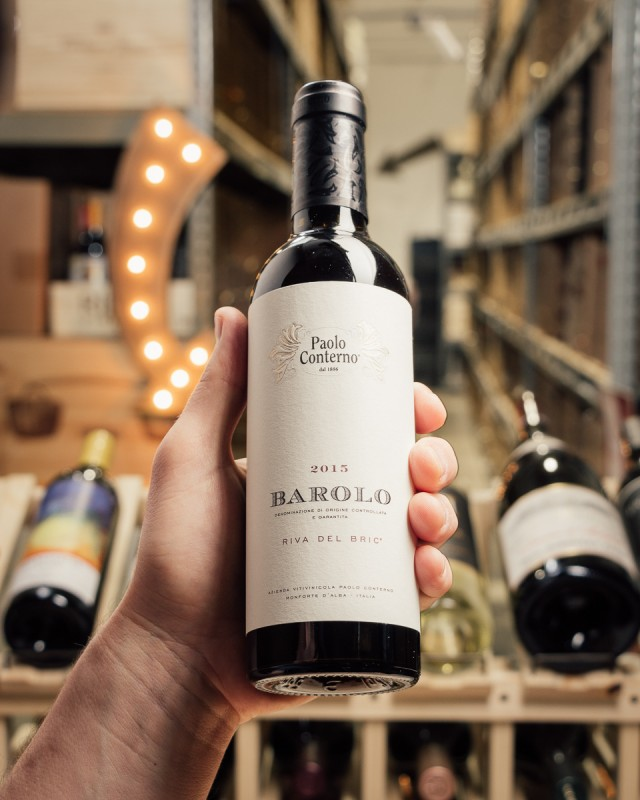 Paolo Conterno Barolo Riva del Bric 2015 (375mL)  - First Bottle