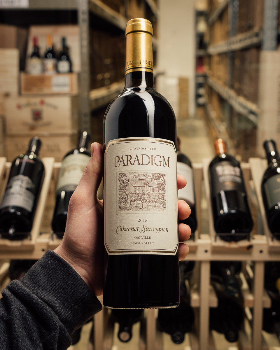 Paradigm Cabernet Sauvignon Oakville 2015  - First Bottle