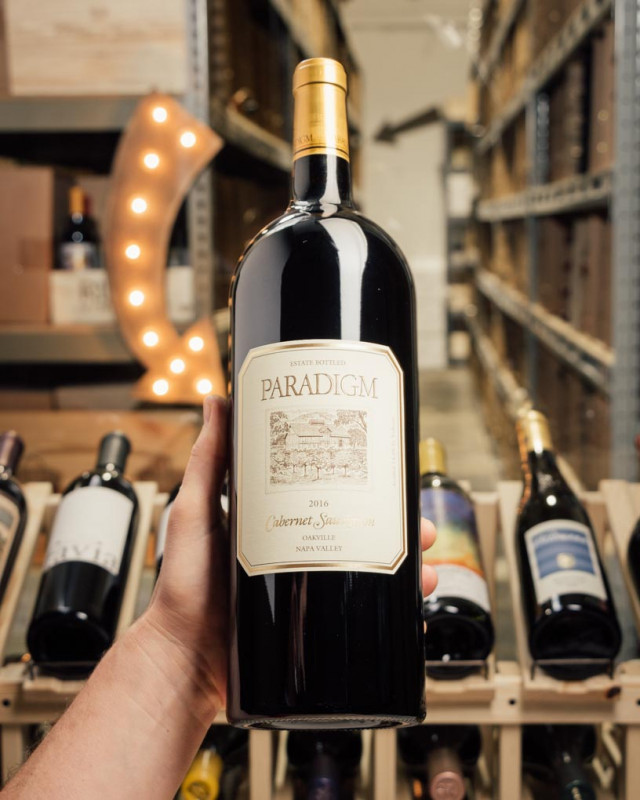 Paradigm Cabernet Sauvignon Oakville 2016 (Magnum 1.5L)  - First Bottle