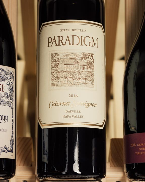 Paradigm Cabernet Sauvignon Oakville 2016  - First Bottle