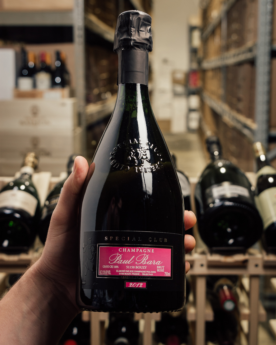 Paul Bara Brut Rose Special Club Grand Cru 2012  - First Bottle