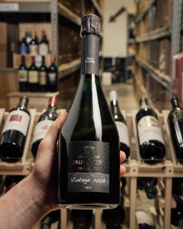 Paul Goerg Brut Millesime Premier Cru 2009  - First Bottle