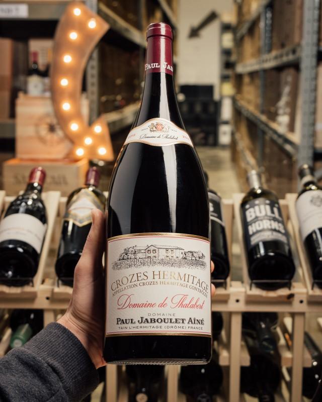Paul Jaboulet Domaine de Thalabert Crozes Hermitage 2015 (Magnum 1.5L)  - First Bottle
