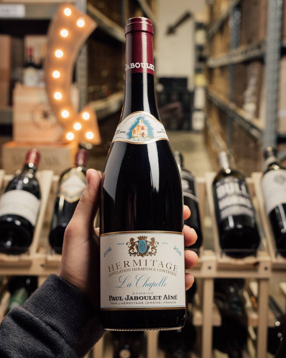 Paul Jaboulet Hermitage La Chapelle 2016  - First Bottle