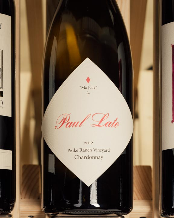 Paul Lato Chardonnay Ma Jolie Peake Ranch Vineyard 2018