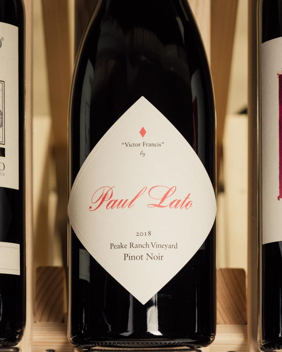 Paul Lato Pinot Noir Victor Francis Peake Ranch Vineyard 2018
