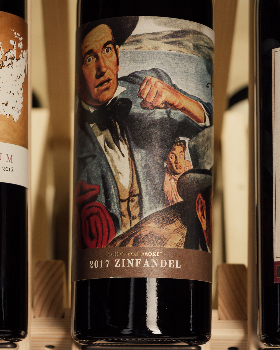 Paydirt Zinfandel Going for Broke Paso Robles 2017  - First Bottle