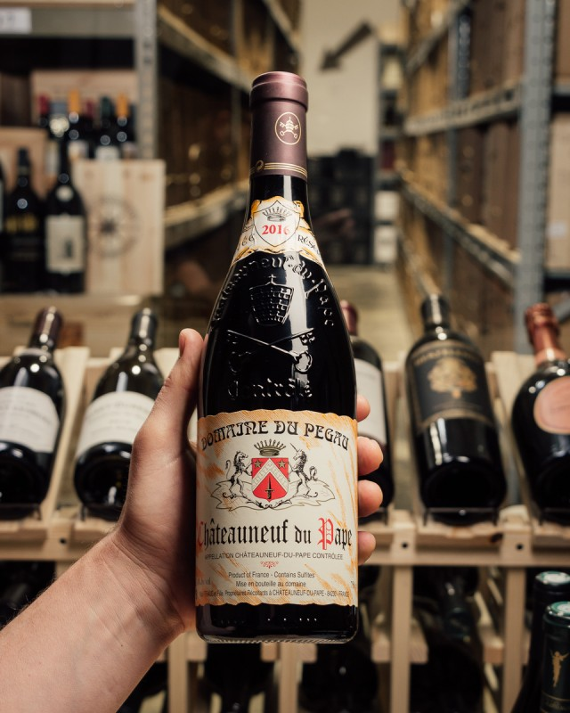 Pegau Chateauneuf du Pape Cuvee Reservee 2016  - First Bottle