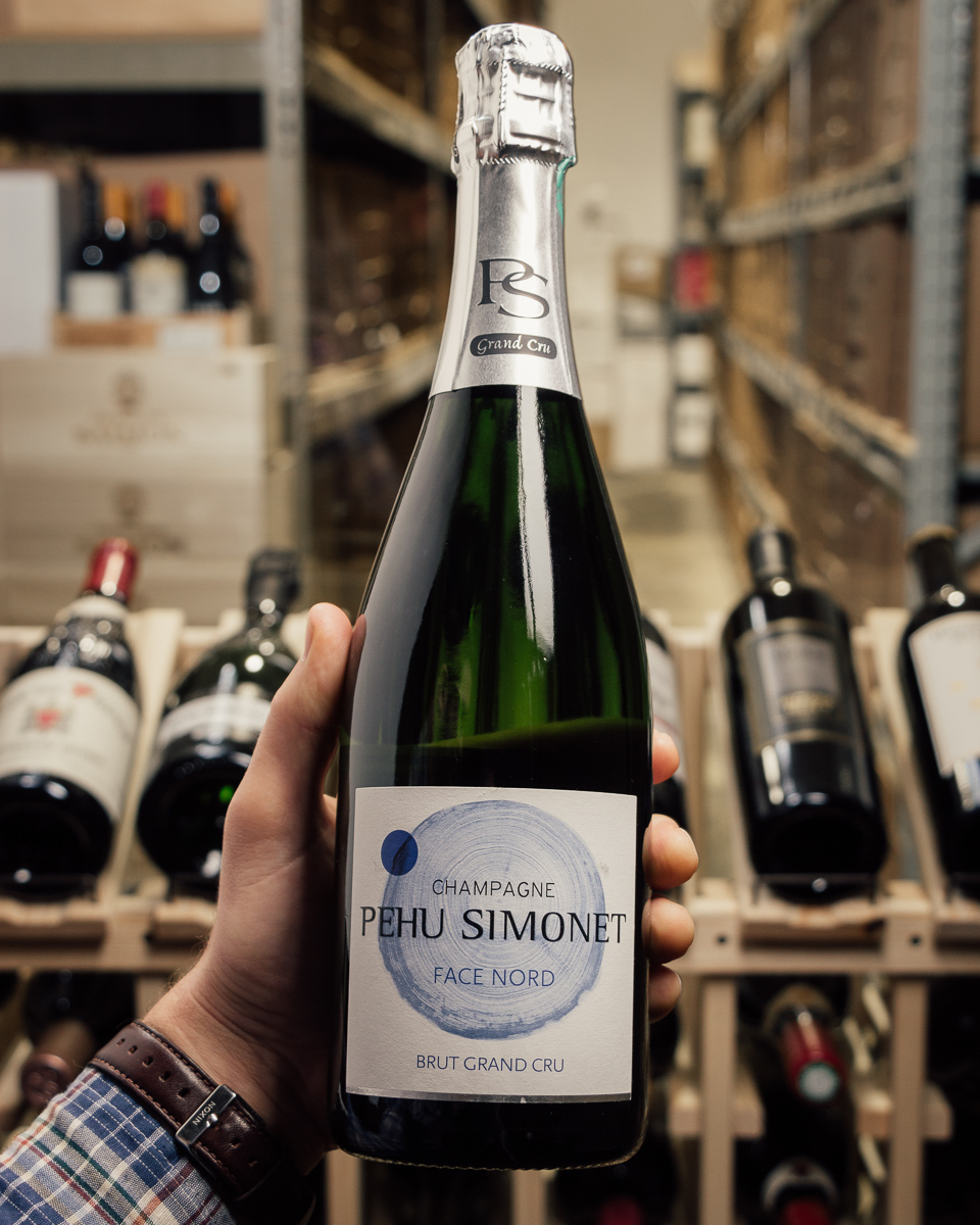 Pehu Simonet Brut Grand Cru Face Nord NV  - First Bottle
