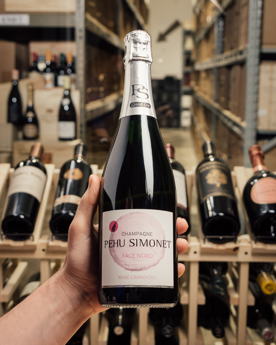 Pehu Simonet Face Nord Brut Rose Grand Cru NV  - First Bottle