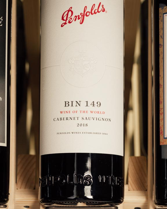 Penfolds Cabernet Sauvignon Bin 149 Wine of the World 2018