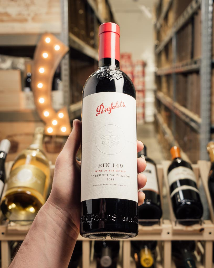 Penfolds Cabernet Sauvignon Bin 149 Wine of the World 2018  - First Bottle