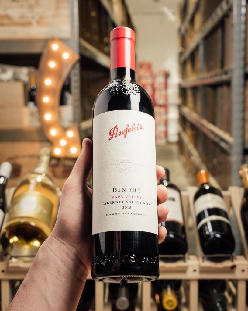 Penfolds Cabernet Sauvignon Bin 704 Napa Valley 2018  - First Bottle