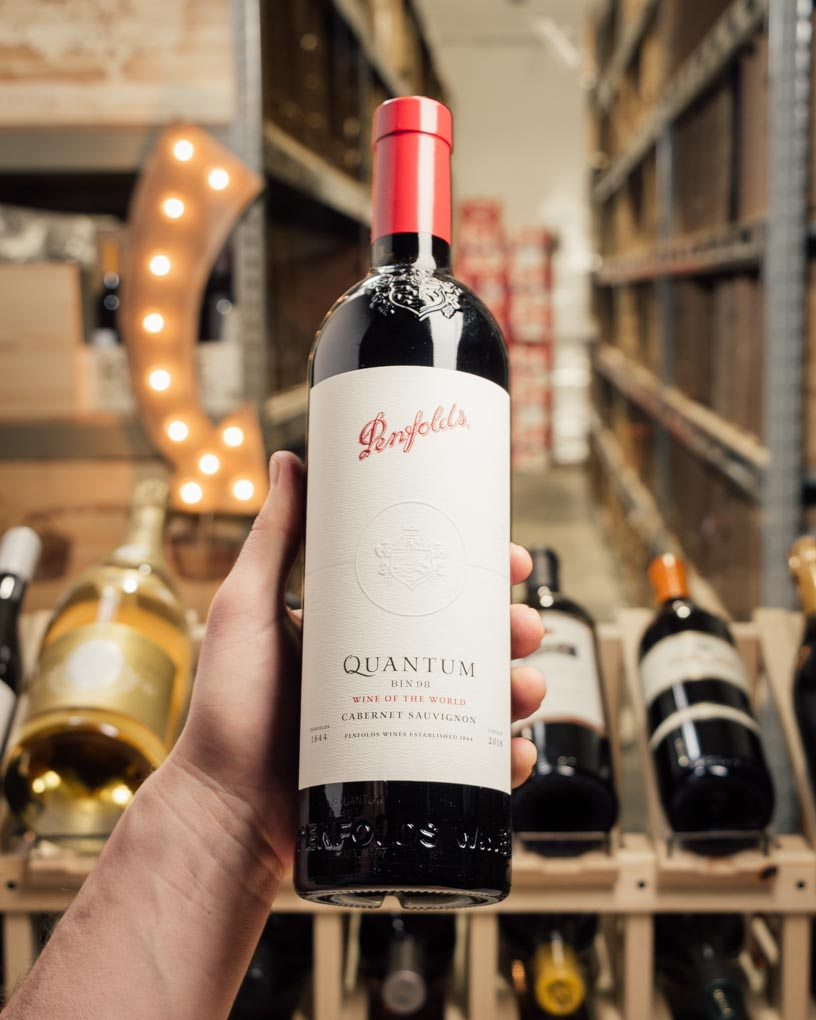 Penfolds Cabernet Sauvignon Bin 98 Quantum Wine of the World 2018  - First Bottle