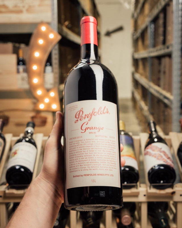 Penfolds Grange Bin 95 Shiraz 2015 OWC (Magnum 1.5L)  - First Bottle