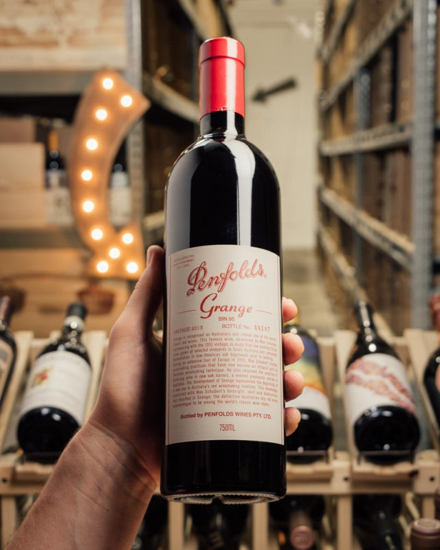 Penfolds Grange Bin 95 Shiraz 2015  - First Bottle