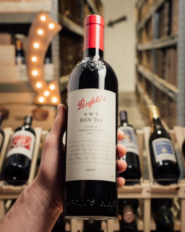 Penfolds Shiraz RWT 2017  - First Bottle