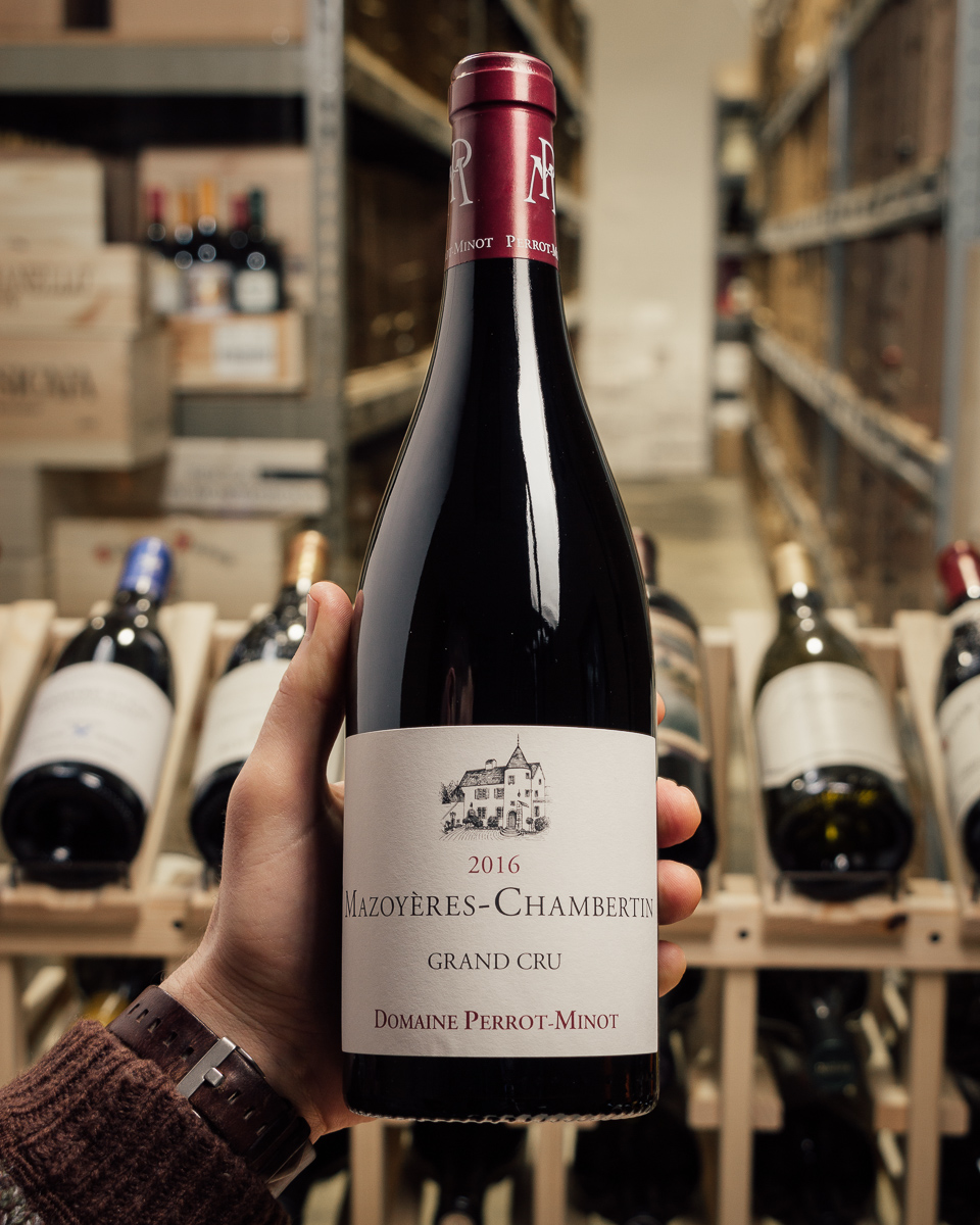 Perrot-Minot Mazoyeres-Chambertin Grand Cru 2016  - First Bottle