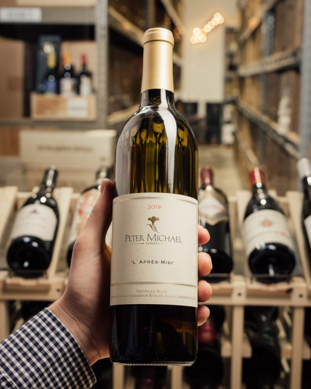 Peter Michael Sauvignon Blanc l`Apres Midi 2018  - First Bottle