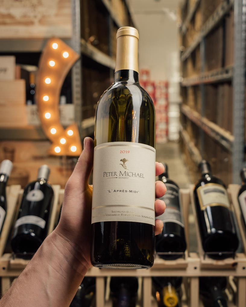 Peter Michael Sauvignon Blanc l`Apres Midi 2019  - First Bottle