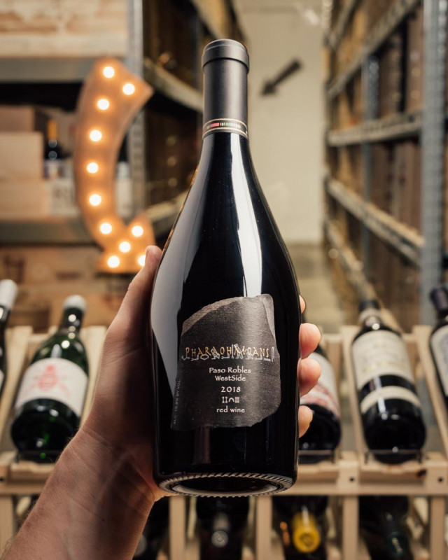 PharaohMoans Syrah Paso Robles 2018  - First Bottle