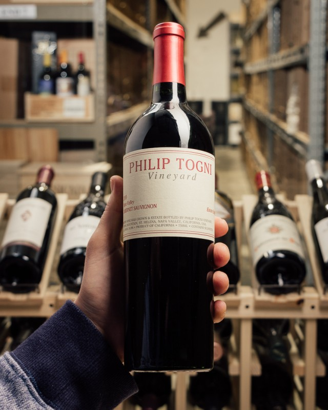 Philip Togni Cabernet Sauvignon Napa 2010  - First Bottle