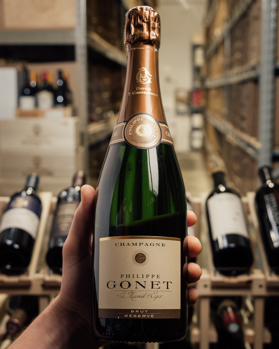 Philippe Gonet Brut Reserve Le Mesnil NV  - First Bottle