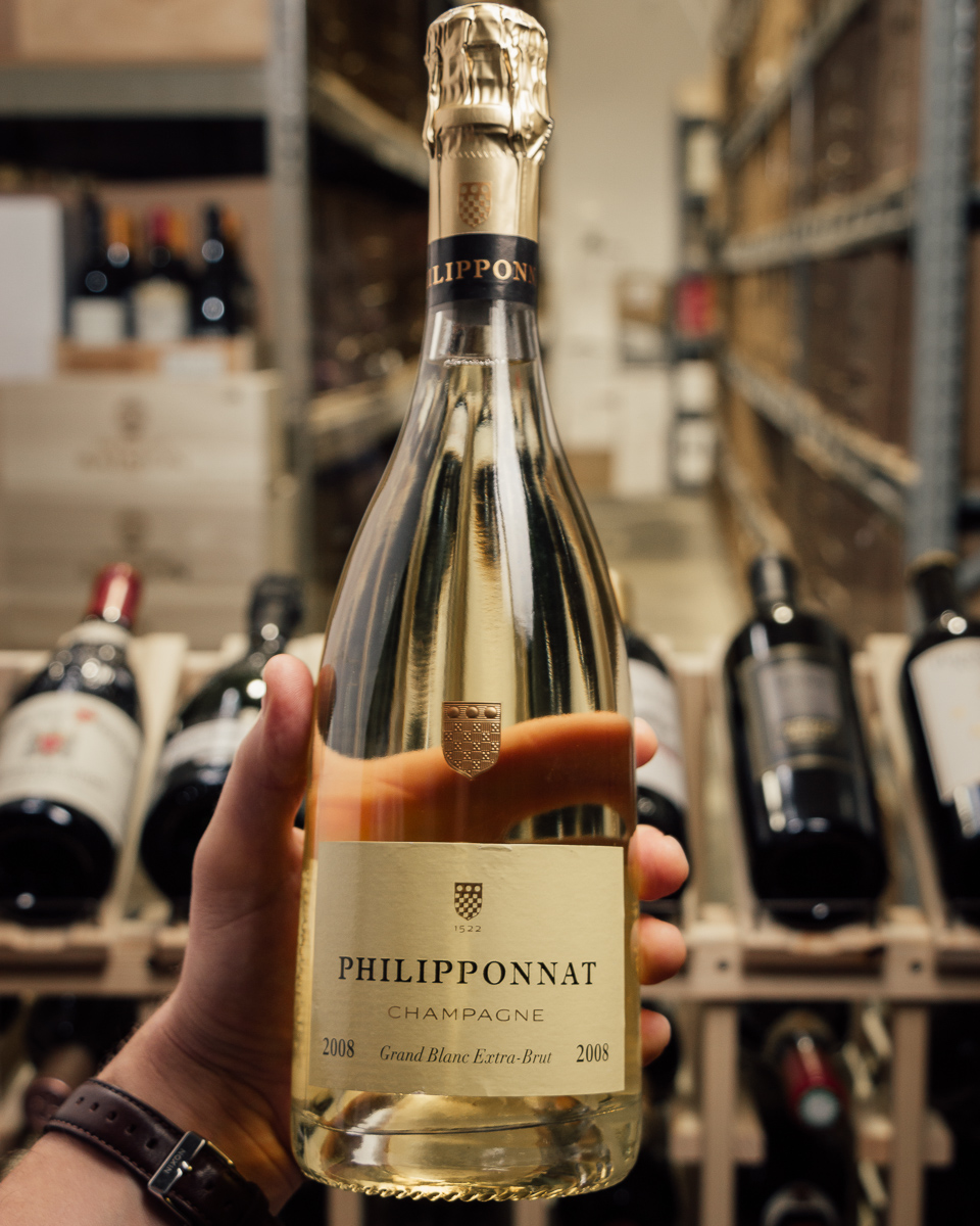 Philipponnat Grand Blanc Extra Brut 2008  - First Bottle