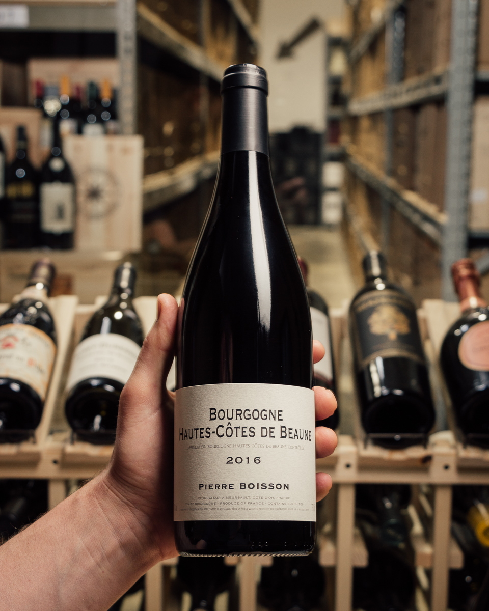 Pierre Boisson Hautes Cotes de Beaune Rouge 2016  - First Bottle