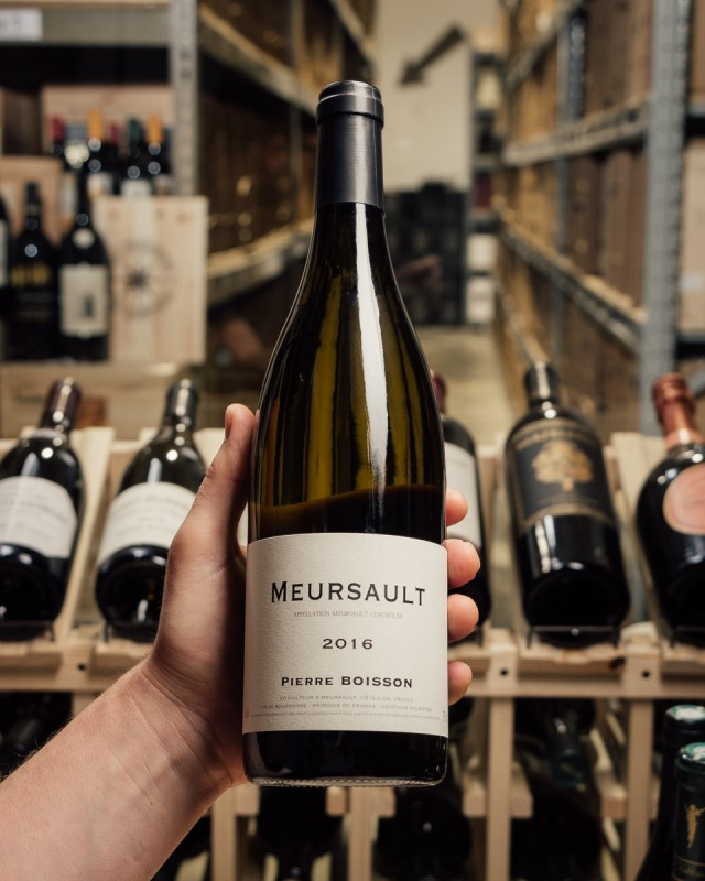 Pierre Boisson Meursault Blanc 2016  - First Bottle