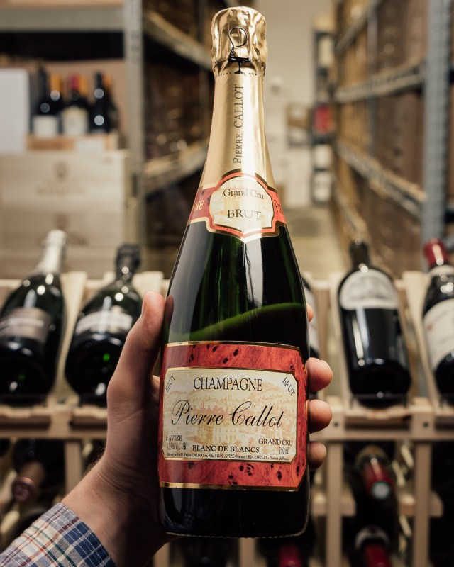 Pierre Callot Blanc de Blancs Brut Grand Cru NV  - First Bottle