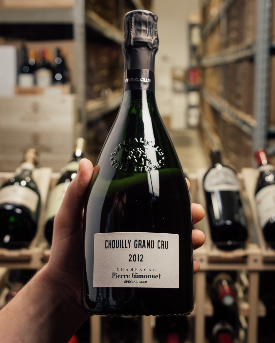 Pierre Gimonnet et Fils Brut Grand Cru Special Club Chouilly 2012  - First Bottle