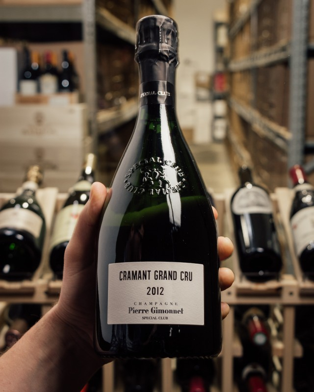 Pierre Gimonnet et Fils Brut Grand Cru Special Club Cramant 2012  - First Bottle