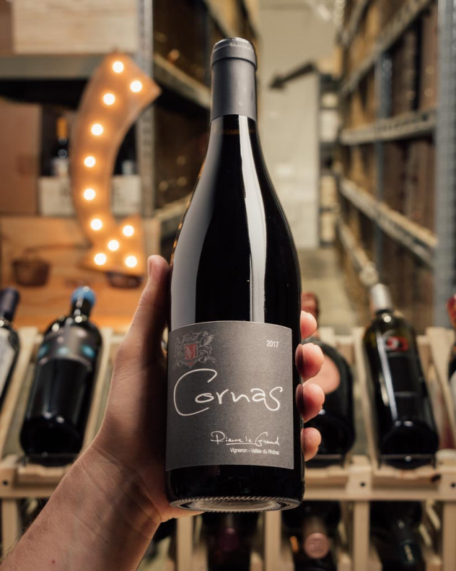 Domaine Mucyn Pierre Le Grand Cornas 2017  - First Bottle