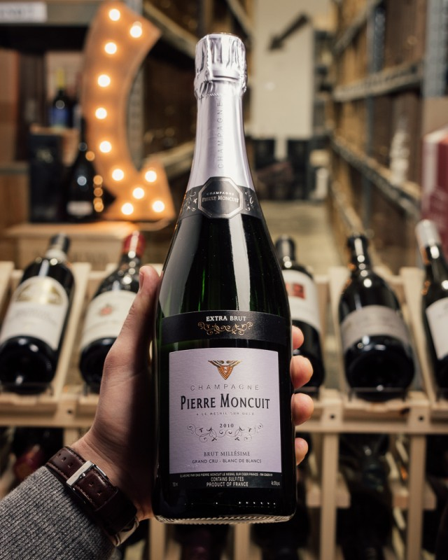 Pierre Moncuit Blanc de Blancs Extra Brut Grand Cru 2010  - First Bottle