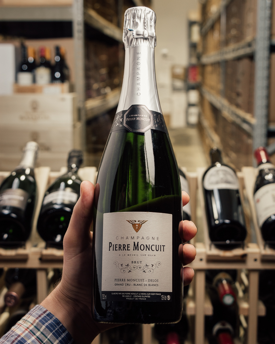 Pierre Moncuit Blanc de Blancs Grand Cru NV  - First Bottle