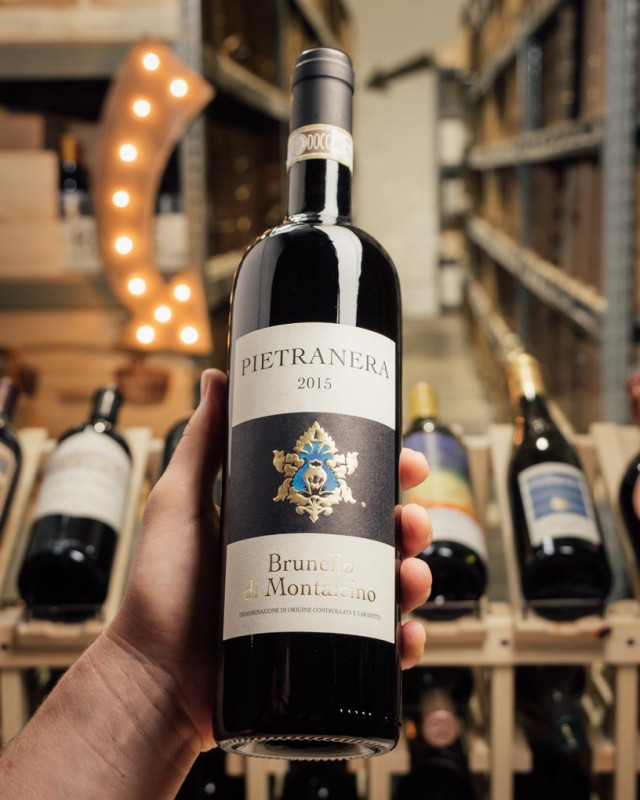 Pietranera Brunello di Montalcino 2015  - First Bottle