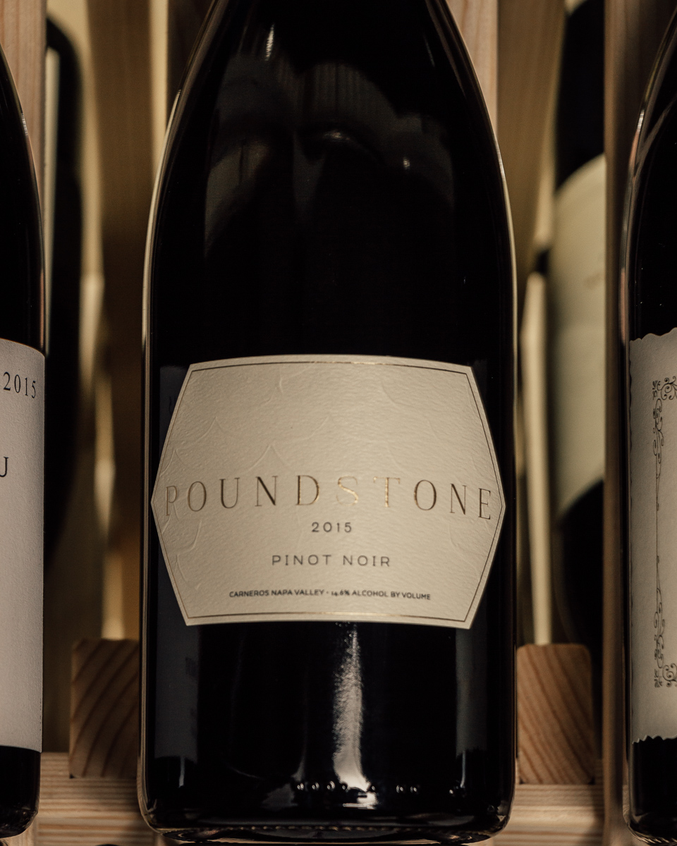 Poundstone Pinot Noir Carneros 2015  - First Bottle