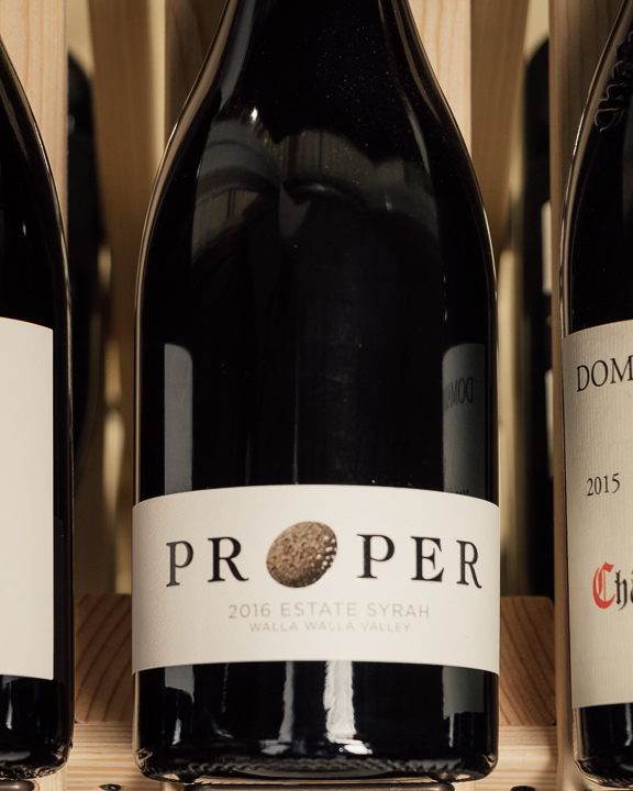 Proper Estate Syrah Walla Walla Valley 2016