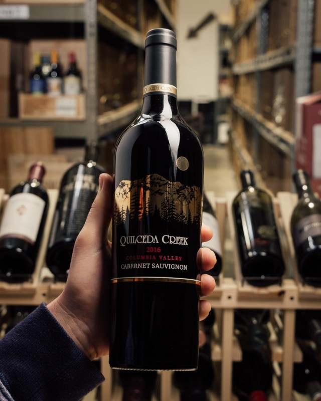 Quilceda Creek Cabernet Sauvignon Columbia Valley 2016  - First Bottle