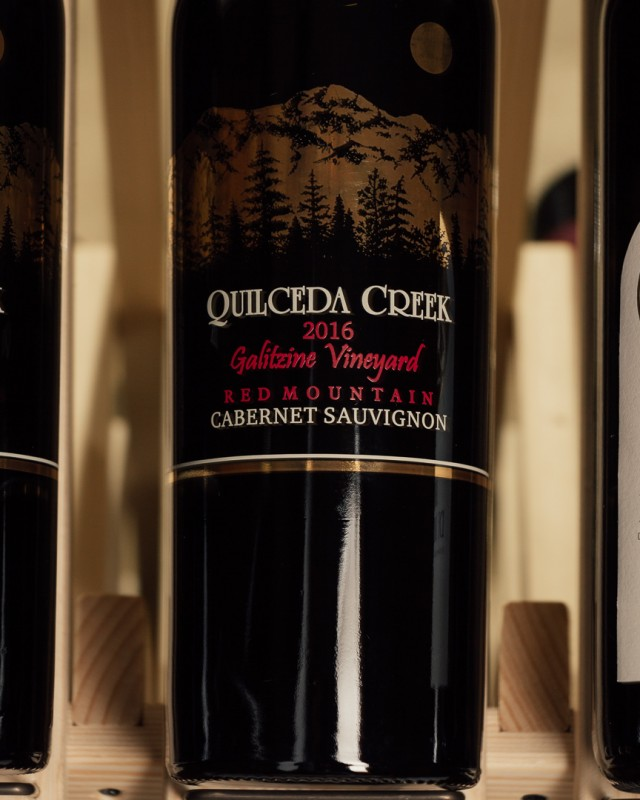 Quilceda Creek Cabernet Sauvignon Galitzine Vineyard 2016