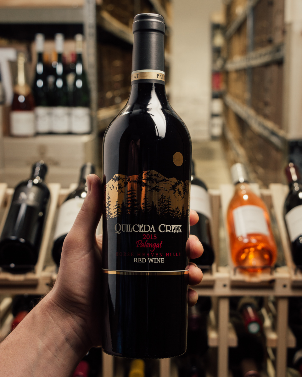 Quilceda Creek Proprietary Red Palengat 2015  - First Bottle