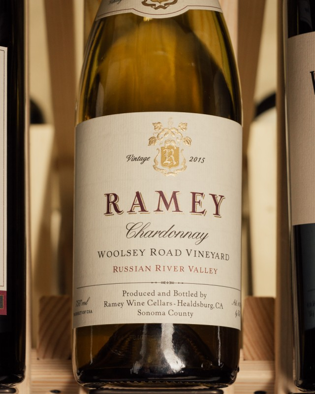 Ramey Chardonnay Woolsey Road 2015  - First Bottle