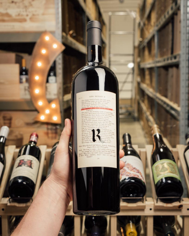 Realm The Bard Red Napa Valley 2018 (Magnum 1.5L)  - First Bottle