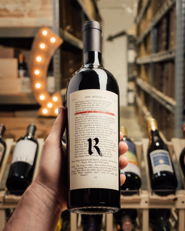 Realm The Bard Red Napa Valley 2018  - First Bottle