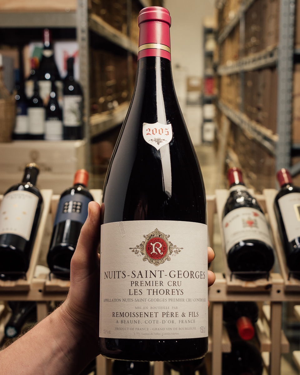 Remoissenet Nuits St Georges 1er Cru Thoreys 2005 (1.5L Magnum)  - First Bottle