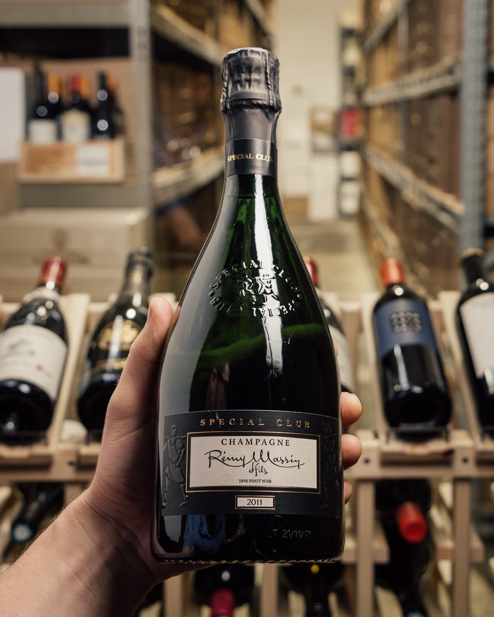 Remy Massin Champagne Special Club Brut 2011  - First Bottle