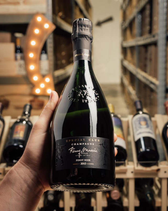Remy Massin Blanc de Noirs Special Club 2012  - First Bottle