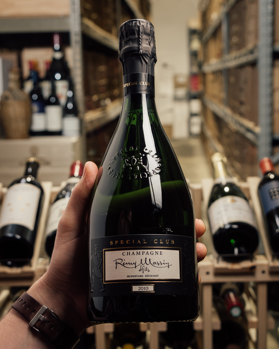 Remy Massin Champagne Special Club Brut 2010  - First Bottle